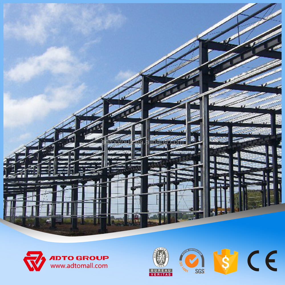 ADTO Group Light Steel Building Systems Structure Profile Warehouse Workshop With Air Ventilation Plans Drawings Wholesale 2016