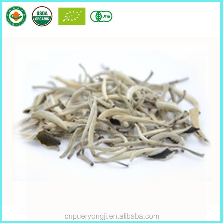 Yunnan Natural Bai Hao Yin Zhen Silver Needle White Tea loose leaf tea