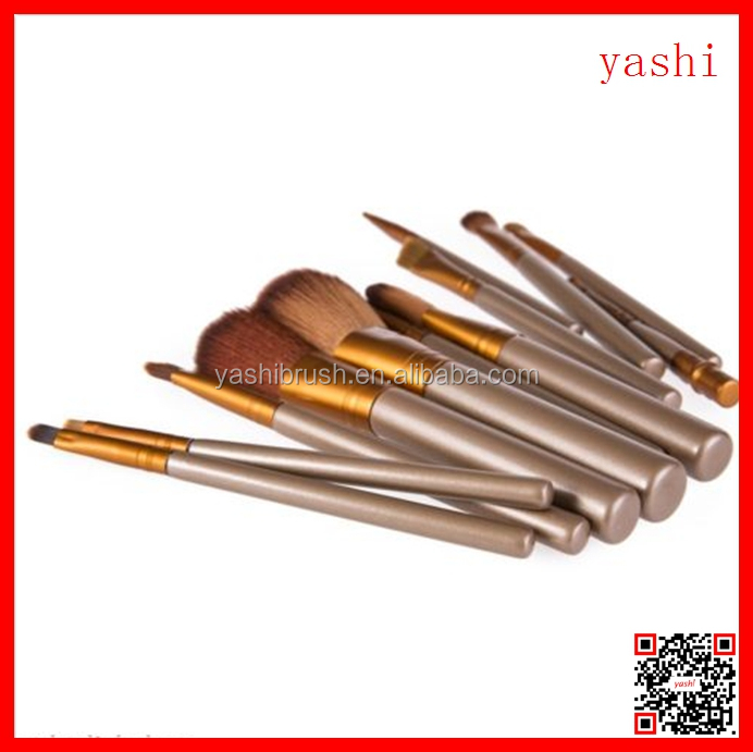 YASHI 2016 Hot soft cosmetic naked makeup tool beauty brushes kit for sale