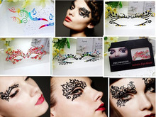 Eye sticker, Eyeline tattoo sticker, eye temporary tattoo.