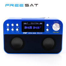Freesat Portable DAB+ Bluetooth Radio Outdoor Indoor Support FM Radio USB SD MP3 Player Wireless Speaker Colorful Screen