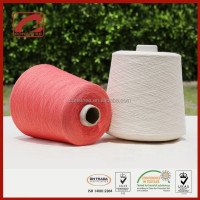 Top Line slub effect knitting yarn 90% natural Cotton from China