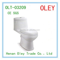 Popular style Best WC porcelain toilets 2016 American style washdown one piece toilet with good quality low price