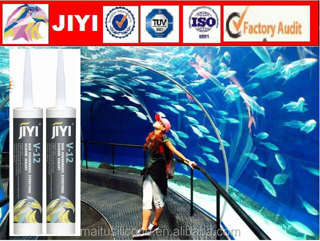 one component acetoxy aquarium struction silicone sealant adhesives sealantst with water resistance tube
