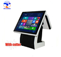 electronics touch screen supermarket retail all in one pos terminal with receipt printer pos machine