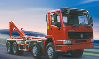 New Small Size Hook Lift Garbage Truck For Sale