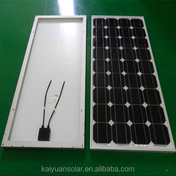A-grade cell mono 130w pv solar panel price