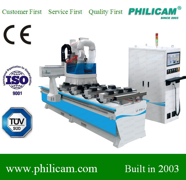 PTP cnc router center machine with automatic Nesting system