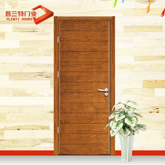 solid wooden interior main doors