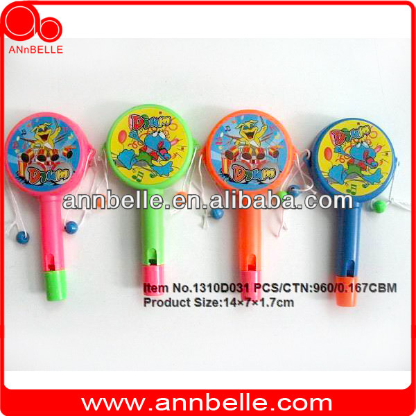 party supply birthday giveaways wholesale party supplies plastic drum shaking drum with whistle rattle