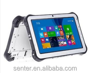 Finger identification IP65 protectionlevel military/industrial Tablet PC with 1D 2D barcode scanner