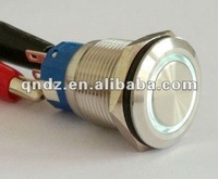QN19-B2 (19mm) waterproof on off push button switch