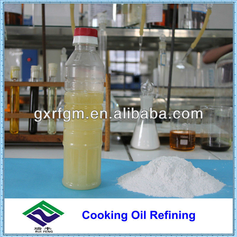 Acid Activated Clay for Cooking Oil