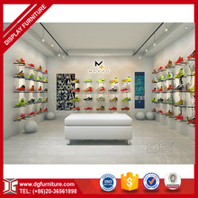 WOW,Nice wall mount shoe display shelf display rack