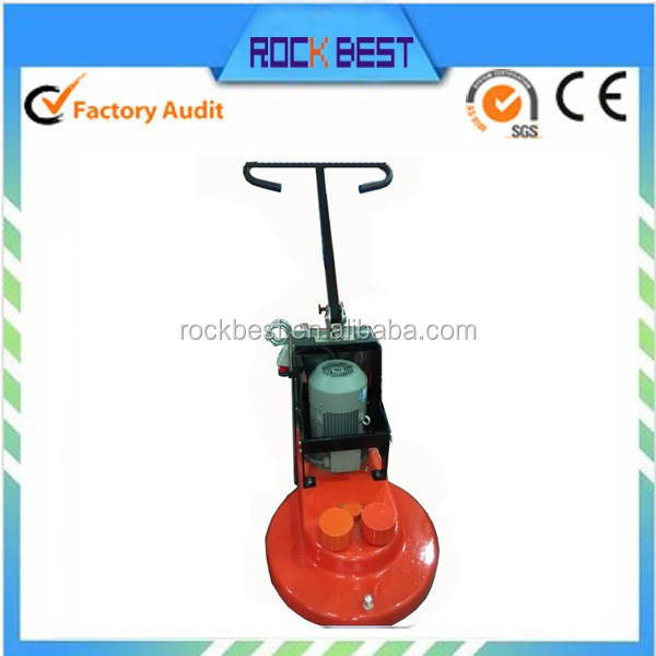 floor polishing and buffing machine