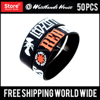 Popular Rubber Event Amazing Event Promotional Customized Silicone Event Thin Wristbands