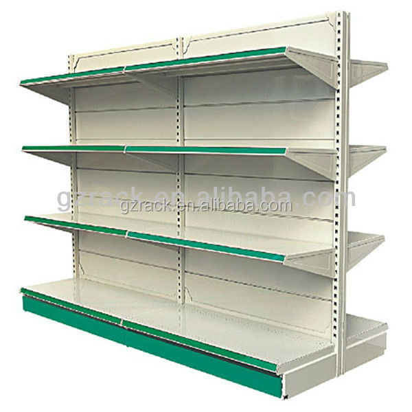 4 Tier Store Display Shelving Gondola Shelving Supermarket <strong>Shelves</strong>