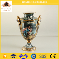 China Luxury ceramic home decor wholesale vase