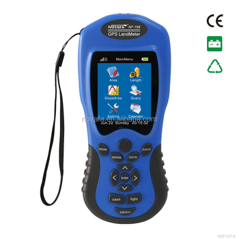Handhold GPS Land Area Measuring instruments & download tha data to computer NF-198