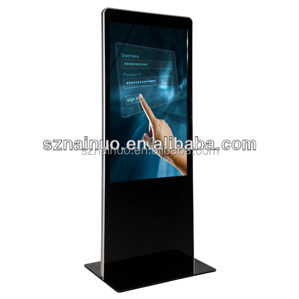 49 inch touch screen lcd display digital signage full hd media player 1080p