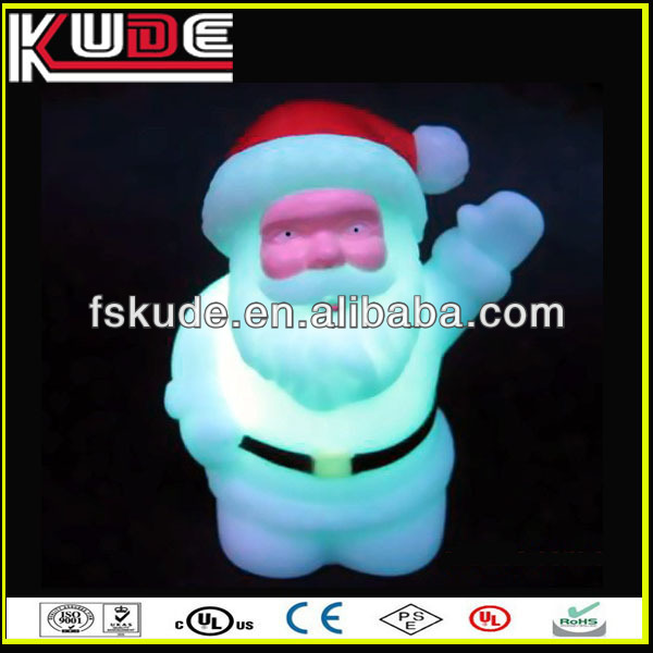 Best selling Multicolor led Christmas Decorations Christmas Gifts 2013 Luminous Father Christmas