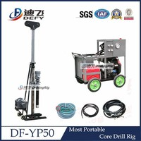 For Geological Sampling DF-YP50 Smallest Ideal Core Drill Machine