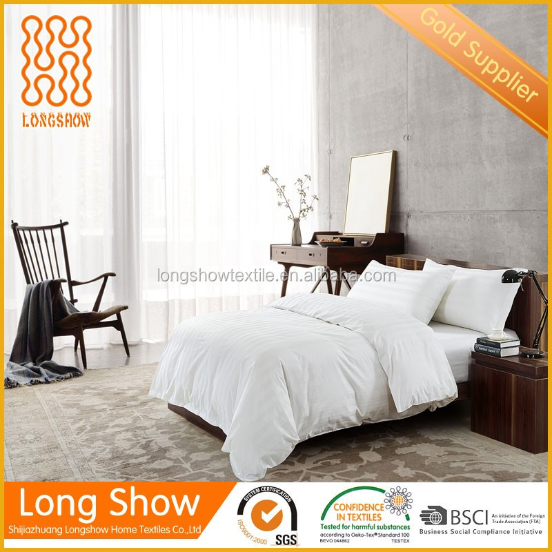 luxury commercial custom hotel bed linen