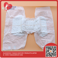 Super absorbency cheap disposable printed adult baby diaper