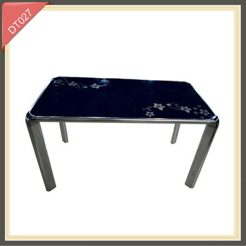 Wood And Glass Top High Quality Dining Table From Chinese Furniture Manufacturers Buy Glass