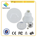 led bulb 9w lamp housing parts projector lamp housing