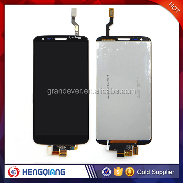 Amazing!!! 100% tested quality guaratee D820 touch lcd screen for LG g2 d820 black lcd digitizer