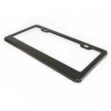 Fashion Carbon Fiber License Plate Frame & Car Number Plate Holder