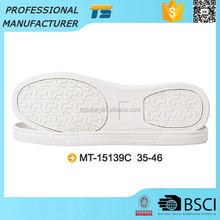 White Synthetic Rubber Outsoles For Shoes