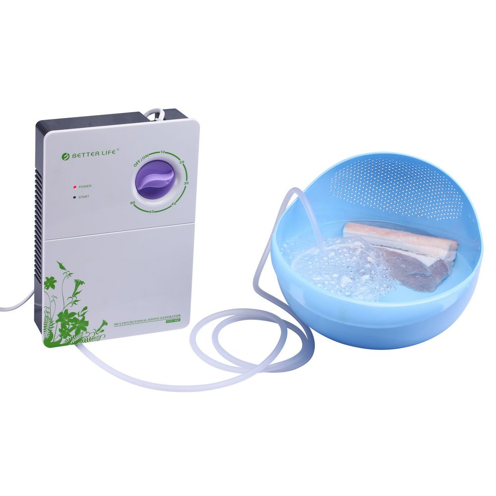 Portable 400mg/h <strong>O3</strong> Ozone Automatic Cycle Drinking Water Purifier Ozone Generator with LCD Display and Timer