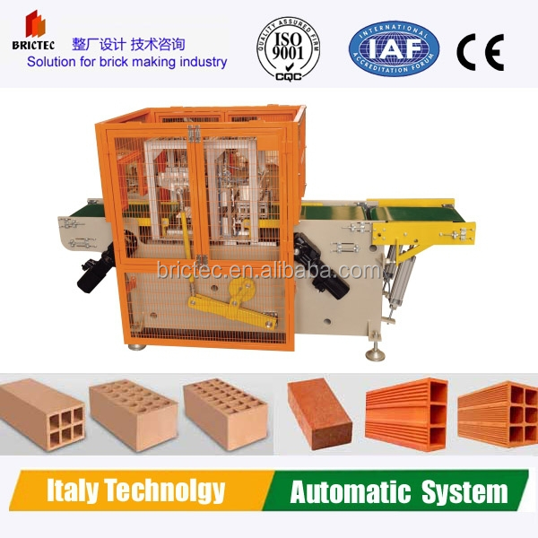 Automatic small hollow clay block and brick making machines