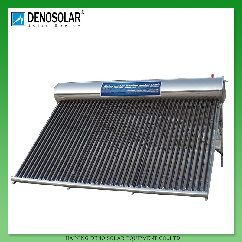 DENO High Quality Best Selling Residential Low Pressure Solar Powered Water Heater
