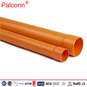 pvc pipe diameter 110mm for electrical conduit