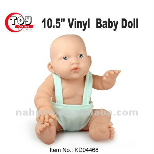 10.5 inch vinyl expression in suspenders toy real life baby doll for wholesale