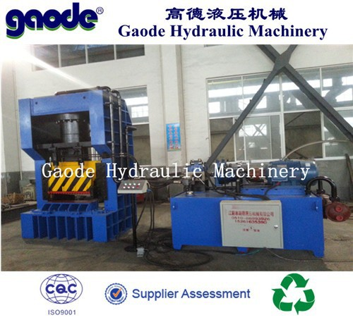 Hydraulic Gantry Scrap Metal Sheet Recycling Cutting Machine