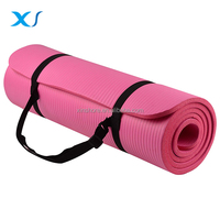 Eco Friendly Comfort Yoga Mat With Carrying Strap For Exercise Yoga