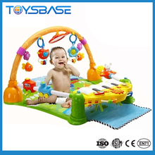 Hot selling cartoon baby gym,baby care folding crawling floor mat