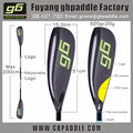 high quality carbon wing kayak paddles