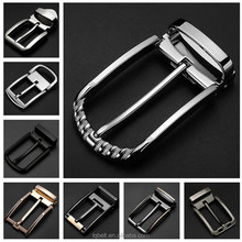 custom LOGO leather belt buckle Men pin buckles for 3.2cm strap factory wholesale
