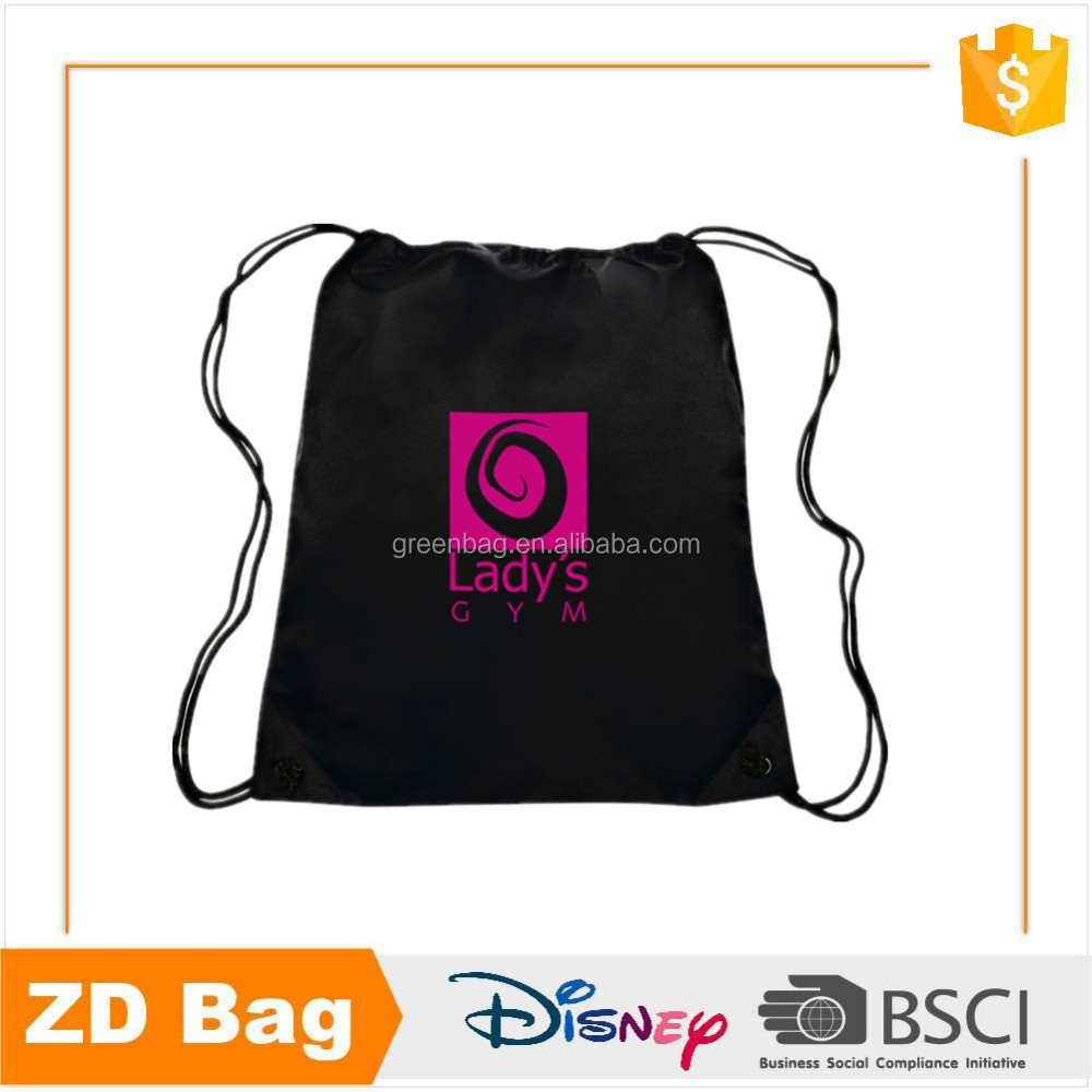 Manufacturer Plastic Gift Bag Wholesale Hemp Bag Drawstring