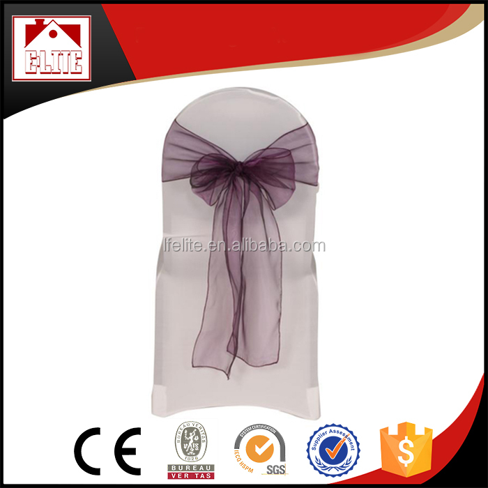 Chair sash organza sash