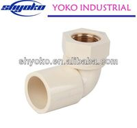2014 China high quality CPVC pipe fittings Plastic Tubes greenhouse structure fixer
