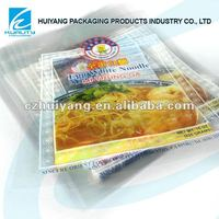 Laminated fast food packaging plastic bag for rice noodles