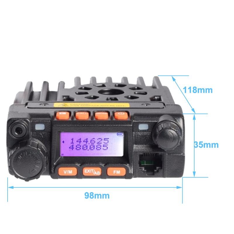Mobile Radio UHF VHF Dual Band 136-174mhz 400-480mhz