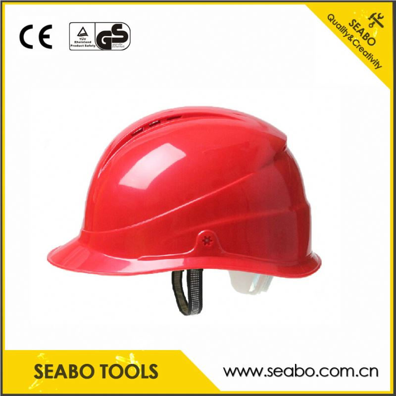 Soft Grip Handle safe helmet With heat treated and polished