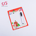 China manufacture magnetic board on the fridge child magnetic small drawing board